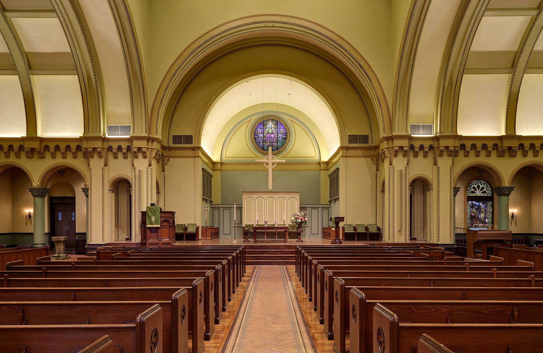 Second Presbyterian Church Restoration Randy Burkett
