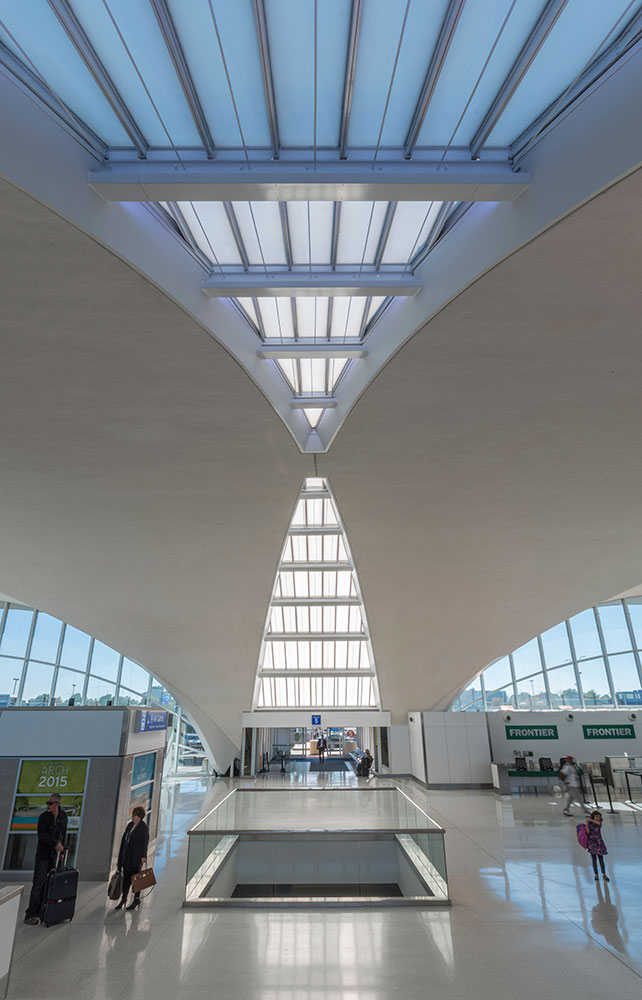 Lambert St Louis Airport Randy Burkett Lighting Design