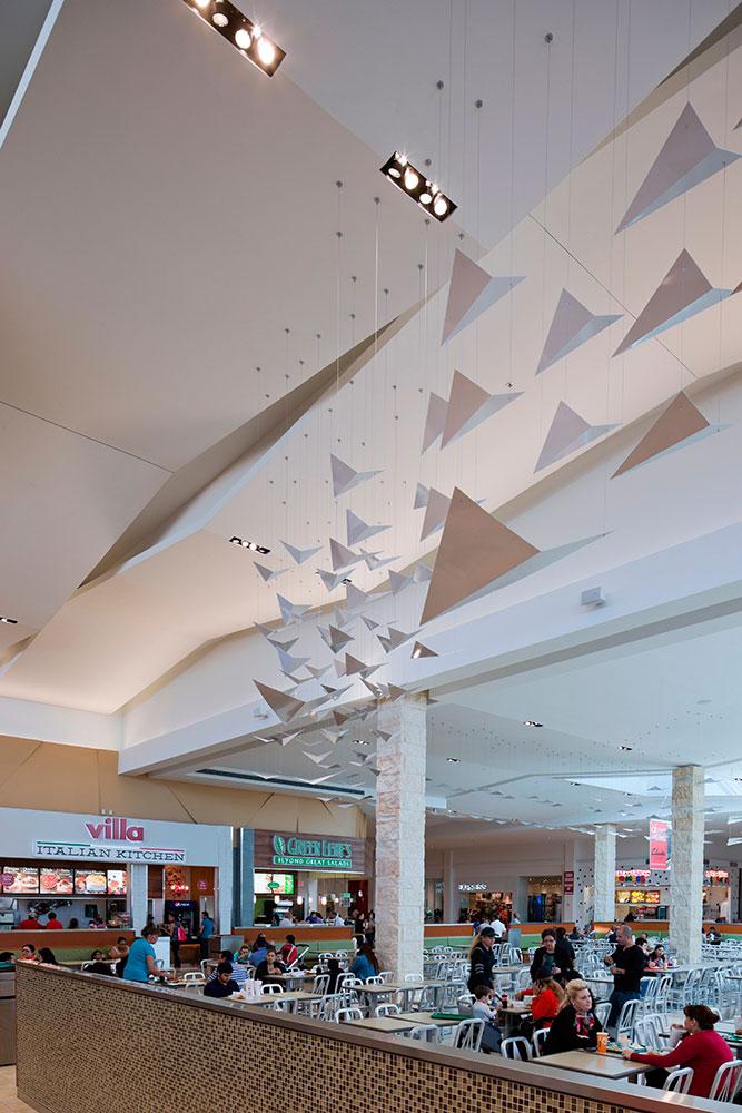 The Cafes At Laplaza Mall Randy Burkett Lighting Design