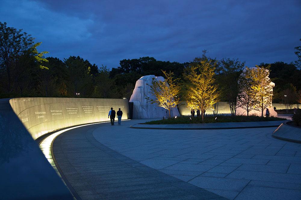 The Martin Luther King Jr Memorial Randy Burkett Lighting Design