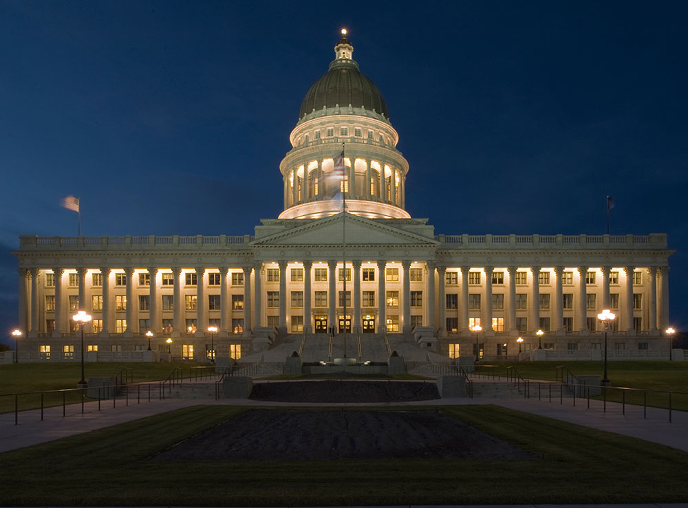 Utah State Capitol Randy Burkett Lighting Design