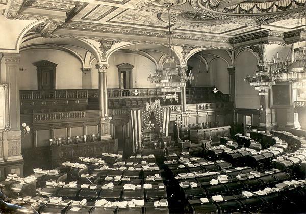 Illinois State Capitol Legislative Chambers Randy