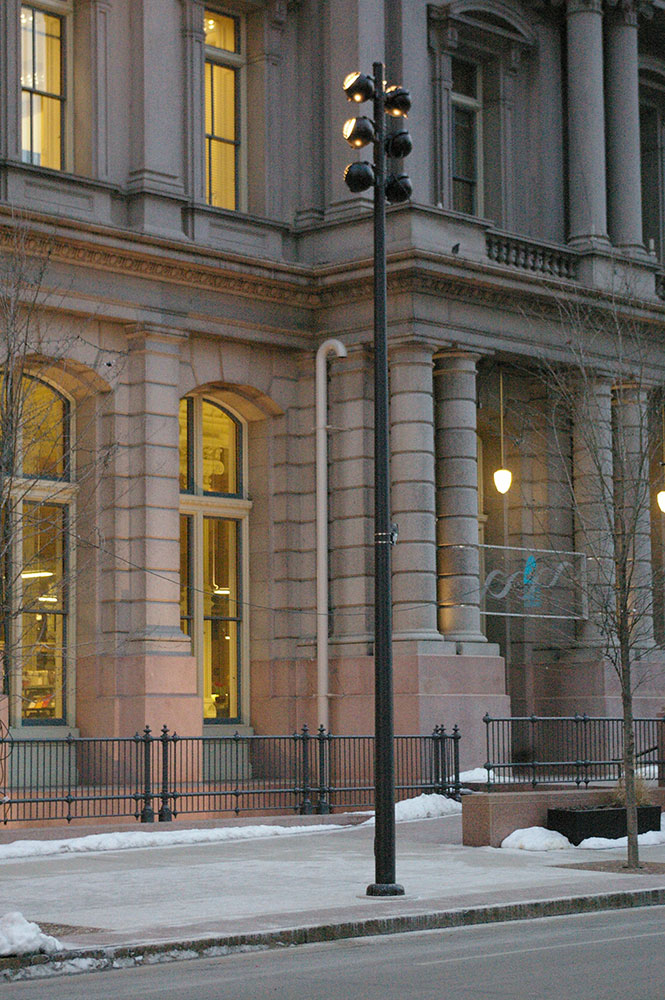 old post office and customs house randy burkett lighting design