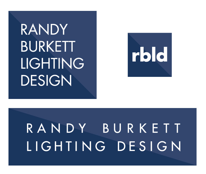 New Randy Burkett Lighting Design logo system